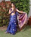 Heavy South Silk Ladies Indian Wear Saree