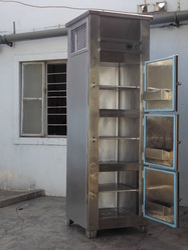 Stainless Steel Vertical Freezer 400 liter
