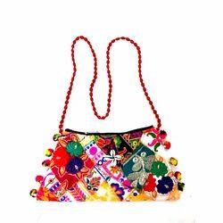 Embroidered Gujarati Handicraft Handbag