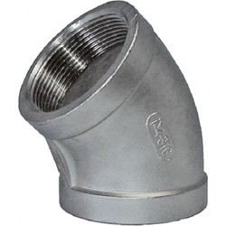 Stainless Steel Elbow, Size: 1/4 and 2 inch