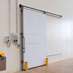 White Insulated Sliding Doors