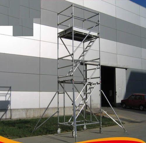 Aluminium Scaffold - Aluminum Double Width Mobile Scaffold