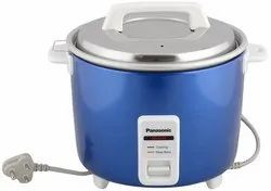 Blue Stainless Steel Panasonic Sr-Wa18h (E) Automatic Cooker Warmer 4.4l 660wt, For Home, Size: 27.4 x 27.3 x 38.3 Cm