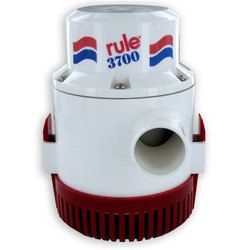 3700 GPH Rule Higher Capacity Bilge Pumps