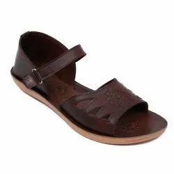 Brown Casual Wear Elite-123 Sandals