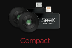 Seek Thermal Compact All-Purpose Thermal Imaging Camera For Android MicroUSB