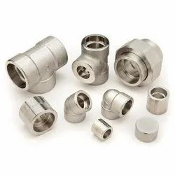 Stainless Steel Forged Fittings, Material Grade: 304/316