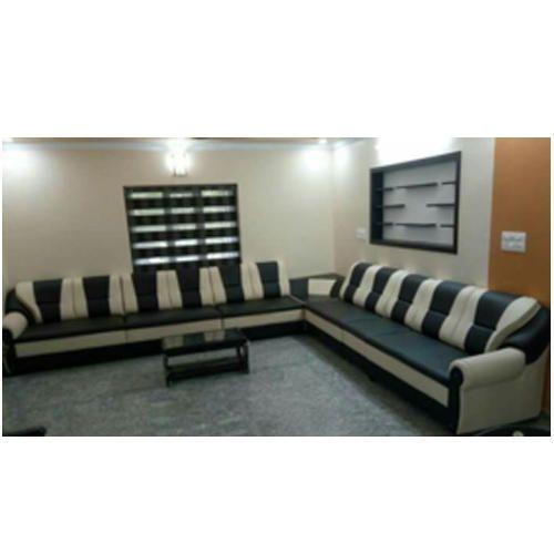 Leather 8 Seater Sofa Set Rs 25000 Set Aaradhana Livings Id