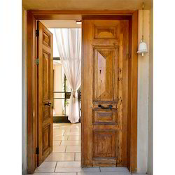 Decorative Sagwan Wood Door