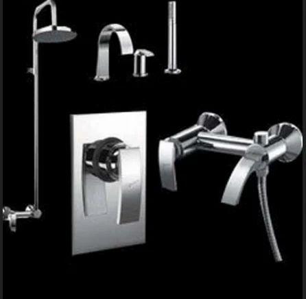 Jaquar Cp Bathroom Fittings Chrome Plated Bathroom Accessories Chrome Plated Bathroom Fittings स प ब थर म फ ट ग In Sminu Tower Mumbai Shah Ceramics Id 18310921930