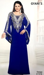 Fancy Moroccan Wedding Abaya