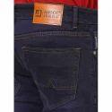 Dark Blue Cotton Mens Jeans