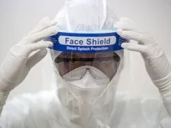 Surgical Transparent Anti Saliva Face Shield to Cover Face for Coronavirus Protection