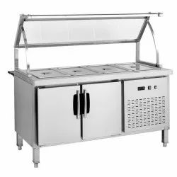 Cold Bain Marie Display Counter