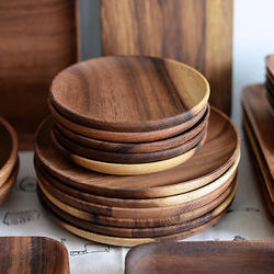 Wooden Sheesham Plate & Wooden Plate - लकड़ी की थाली Wood Plate Manufacturers ...