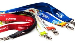 4 Colours Lanyards Printing
