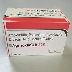 Amxoycillin Potassium Clavulanate & Lactic Acid Bacillus
