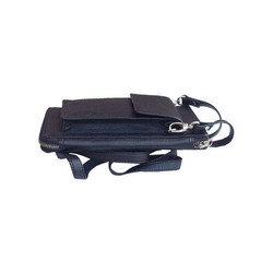 Leatherette Passport Holder with String