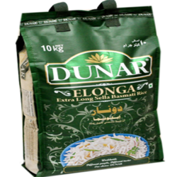 Dunar Elonga Parboiled Golden Extra Long Basmati Rice