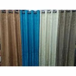 Polyester Plain Fancy Curtains