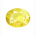 Unheated And Untreated Yellow Sapphire