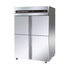 4 Door SS Vertical  Freezer & Chiller