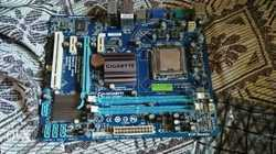 gigabyte g41 motherboard lga 775 socket ddr3 ram support