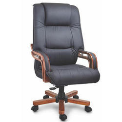 Fort Leatherette CEO Black Leather Chair