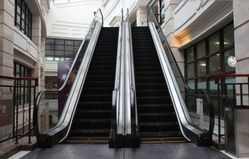 Shopping Malls Escalator