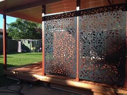 Corten Steel Decorative Screen