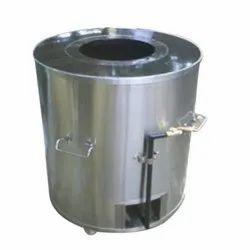 Stainless Steel Round Drum Tandoor