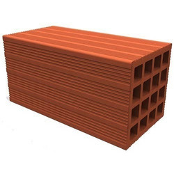 Red Faux Porotherm Hollow Blocks for Partition Walls