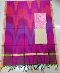 Wedding Banarasi Silk Suit With Dupatta