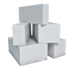 C - Block AAC Fly Ash Block, Size (Inches): 150
