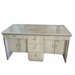 Rectangular Wooden Drawer Table