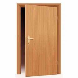 Satyam Brown Hardwood Flush Door