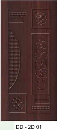 DD-2D 01 Designer Carving Wooden Door