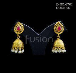 Designer Ethnic Jhumka Earring