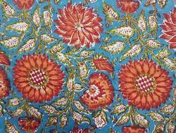 Hand Bock Printed Cotton Fabrics