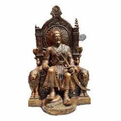 Fiber Chhatrapati Shivaji Maharaj Statue