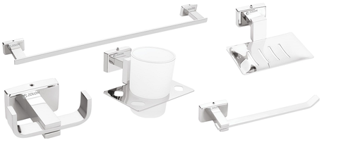 ZOLON Stainless Steel and SS 304 BATHROOM ACCESSORIES SET