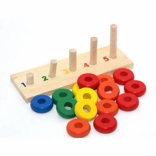 Wooden Kids Educational Toy, Size/Dimension: 23.6 X 8.3 X 8.2 Cm