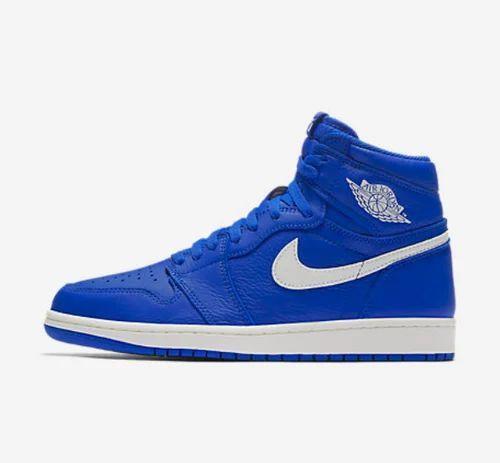 48e25de77b7ddd Men Blue Air Jordan 1 Retro High Og Shoes
