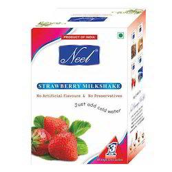 Instant Strawberry Milkshake Premix