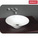 Plain Ceramic Somany Spirit - Art Basins