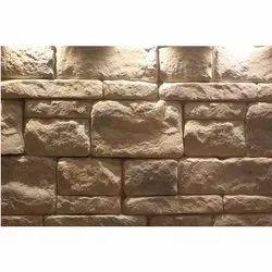 Stone Ashlar Slate Random Interlocking Pattern Wall Cladding