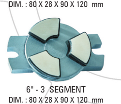 6x3 Segment Carbon Bearing