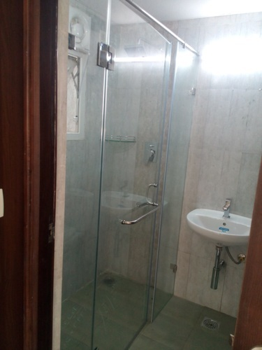 Dorma And Ozone Stainless Steel Frameless Shower Cubicles