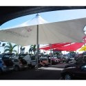 Ferrari Conical Fabric Structure