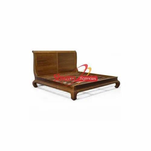 Shyam Agencies Modern Brown Designer Wooden Bed